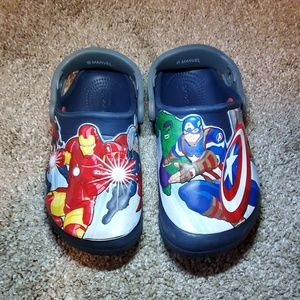 Toddler Avengers Crocs